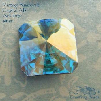 Swarovski art 4650 crystal ab
