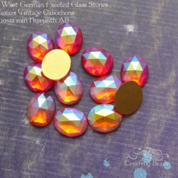 hyazinth AB faceted glass stones