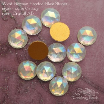 crystal ab glass cabochons